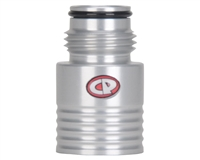 Custom Products Tank Regulator Extender - Silver