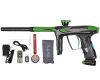 DLX Luxe 2.0 OLED Paintball Marker - Carbon Fiber/Dust Slime Green