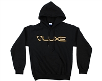 DLX Hooded Sweatshirt - Luxe - Black/Gold