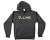 DLX Hooded Sweatshirt - Luxe - Dark Grey