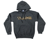 DLX Hooded Sweatshirt - Luxe - Grey (No Outline)
