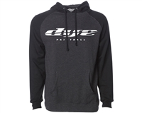 Dye Sliced Hooded Sweatshirt - Pull Over - Charcoal/Black