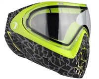 2015 Dye Invision Goggle I4 Pro Mask - Skinned Lime
