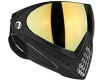 Dye I4 Invision Pro Mask - Black - Dyetanium Faded Bronze Sunrise Lens