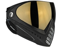 Dye I4 Invision Pro Mask - Black - Smoke Gold Lens