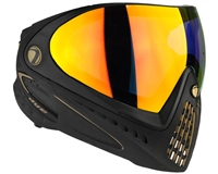 Dye I4 Invision Pro Mask - Black/Gold - Dyetanium Bronze Fire Lens