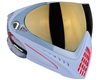 Dye I4 Invision Pro Mask - Bomber Steel - Smoke Gold Lens