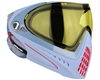 Dye I4 Invision Pro Mask - Bomber Steel - Yellow Lens