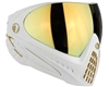Dye I4 Invision Pro Mask - White/Gold - Dyetanium Faded Bronze Sunrise Lens