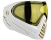 Dye I4 Invision Pro Mask - White/Gold - Yellow Lens