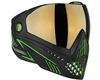 Dye i5 2.0 Mask - Emerald - Smoke Gold Lens