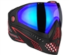 Dye i5 2.0 Mask - Fire - Dyetanium Blue Ice Lens
