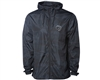 Dye Gas Lamp Zip Up Jacket - Windbreaker - Black/Camo