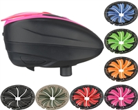 Dye LT-R Loader & Quick Feed Lid - Black/Pink