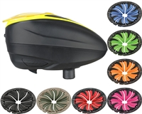 Dye LT-R Loader & Quick Feed Lid - Black/Yellow