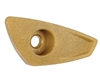 Dye Airport ASA Replacement Knob - M2 - Gold (R95661094)