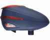 Dye Rotor R2 Paintball Loader - Navy/Red