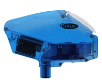 Empire Halo Too SE Paintball Hopper - Diamond Blue