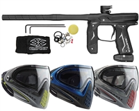 Empire Axe 2.0 Paintball Marker w/ Dye Invision Goggle I4 Pro Mask
