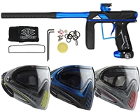 Empire Axe Pro Paintball Marker w/ Dye Invision Goggle I4 Pro Mask