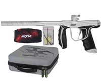 Empire Axe SYX Paintball Marker - Dust Silver/Silver