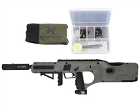 Battle Tested D*Fender Paintball Gun - Empire - Army Green