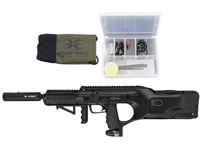 Empire Battle Tested D*Fender Paintball Marker- Black