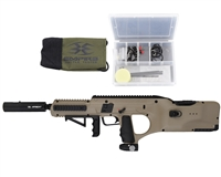 Battle Tested D*Fender Paintball Gun - Empire -Dark Earth