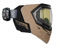 Empire EVS Mask w/ Recon Heads Up Display - Tan/Black