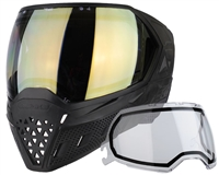 Empire EVS Mask - Black/Black with HD Gold Lens