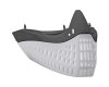 Empire E-Flex Goggle Flex Face - Grey/White