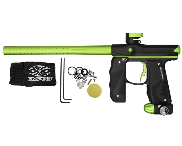 Empire Mini GS Paintball Marker - Black/Neon Green