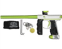 Empire Mini GS Paintball Marker - Dust Silver/Green