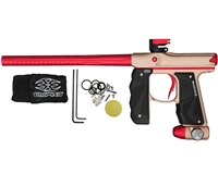 Empire Mini GS Paintball Marker - Dust Tan/Red