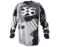 Empire 2016 Contact Zero F6 Paintball Jersey - Black/White