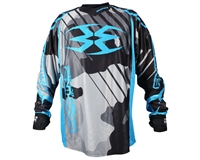 Empire 2016 Contact Zero F6 Paintball Jersey - Grey/Blue
