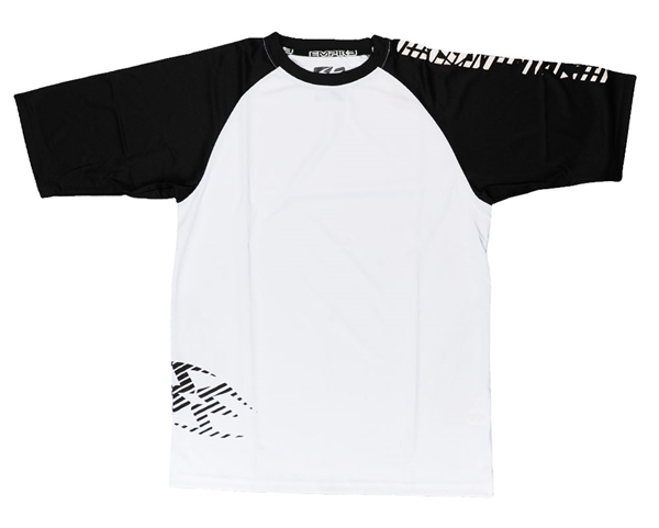 Empire T-Shirt - B&W Zig Zag - Black/White