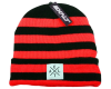 Exalt Paintball Crossroads Beanie - Magma (Red/Black)