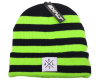 Exalt Paintball Crossroads Beanie - Toxic (Lime/Black)
