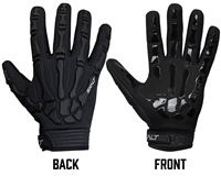 Exalt Death Grip Full Finger Gloves - Black