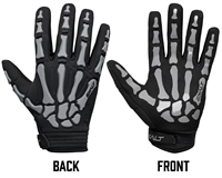 Exalt Death Grip Full Finger Gloves - Grey