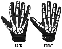 Exalt Death Grip Full Finger Gloves - White