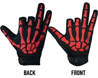 Exalt Death Grip Gloves - Red