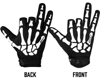 Exalt Death Grip Gloves - Black/White