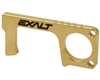 Exalt Door Opener & Stylus - Antimicrobial Brass