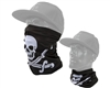 Exalt Protective Neck/Face Gaiter - Jolly Roger Pirate