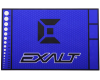 Exalt Paintball HD Rubber Gun Tech Mat - Arctic Blue