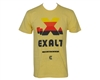 Exalt Retro X Ball Men's T-Shirt - Yellow