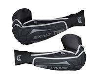 Exalt T3 Padded Elbow Pads - Black/Grey