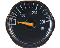 Field One Gun Pressure Gauge - 300 PSI (119901144) - Black